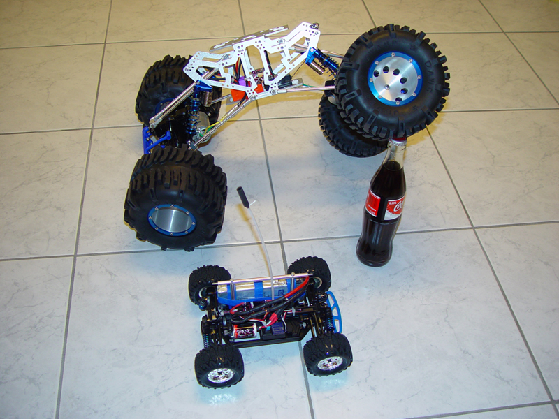 RC Crawler Projekt [Archiv] - Suzuki Jimny Forum