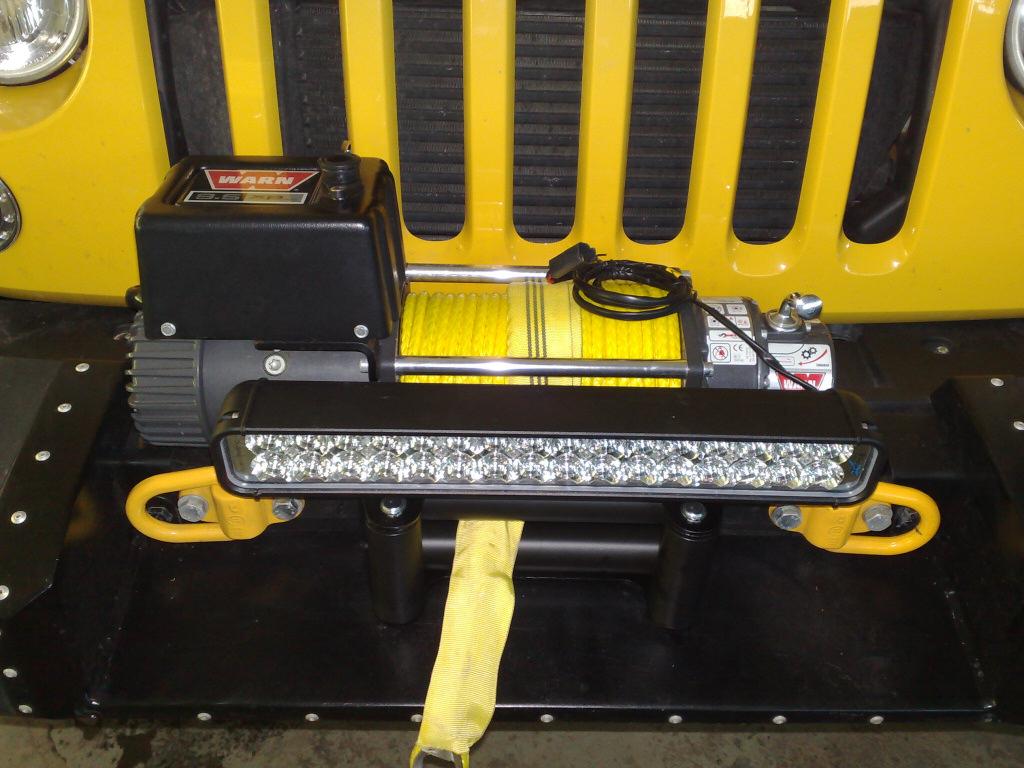 Endlich led licht am jk wrangler jk forum jeep forum for Rose city motors jackson mi inventory
